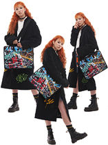 Man G Casual Style Unisex Street Style Collaboration A4 2WAY Bags