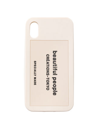 Plain iPhone X iPhone XS Logo Smart Phone Cases
