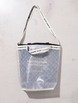 Beauty People 2WAY Plain Crystal Clear Bags Logo Shoulder Bags