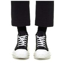 RICK OWENS Plain Cotton Logo Cropped Pants