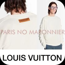 Louis Vuitton Crew Neck Long Sleeves Plain Long Sleeve T-shirt