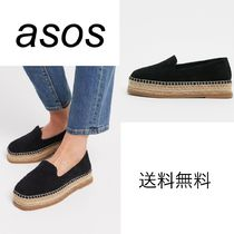 ASOS Platform Casual Style Suede Plain Party Style Formal Style