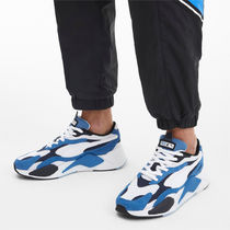 PUMA Other Plaid Patterns Unisex Logo Low-Top Sneakers