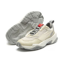 PUMA THUNDER SPECTR Other Plaid Patterns Unisex Logo Low-Top Sneakers