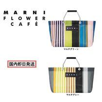 MARNI MARNI MARKET Stripes Casual Style Unisex Blended Fabrics A4 Office Style