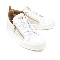GIUSEPPE ZANOTTI Casual Style Street Style Leather Low-Top Sneakers