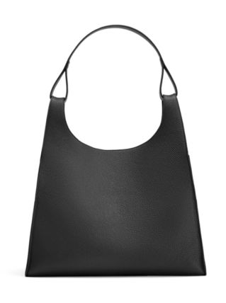 Plain Leather Office Style Elegant Style Totes