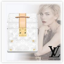 Louis Vuitton Unisex Blended Fabrics Trays