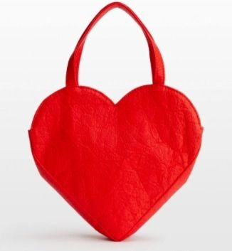 Heart Casual Style 2WAY Plain Leather Party Style