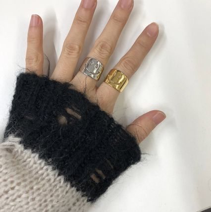 Casual Style Brass Elegant Style Rings