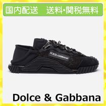 Dolce & Gabbana Casual Style Plain Low-Top Sneakers