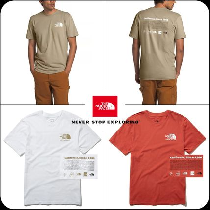 THE NORTH FACE More T-Shirts Unisex Street Style Cotton Short Sleeves
