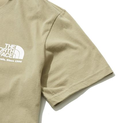THE NORTH FACE More T-Shirts Unisex Street Style Cotton Short Sleeves 7