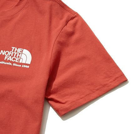 THE NORTH FACE More T-Shirts Unisex Street Style Cotton Short Sleeves 11