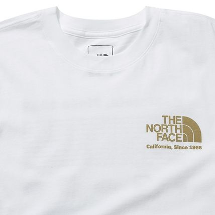 THE NORTH FACE More T-Shirts Unisex Street Style Cotton Short Sleeves 15