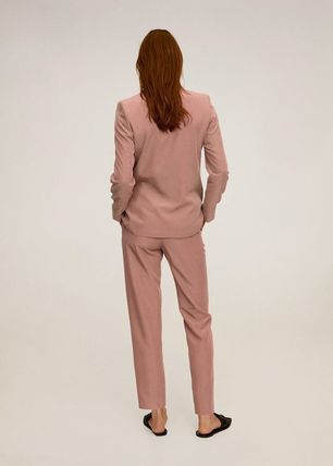 MANGO Casual Style Formal Style  Cropped & Capris Pants