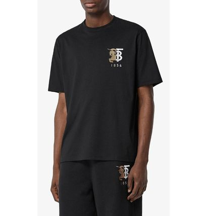 Burberry More T-Shirts Street Style Cotton Luxury T-Shirts 4