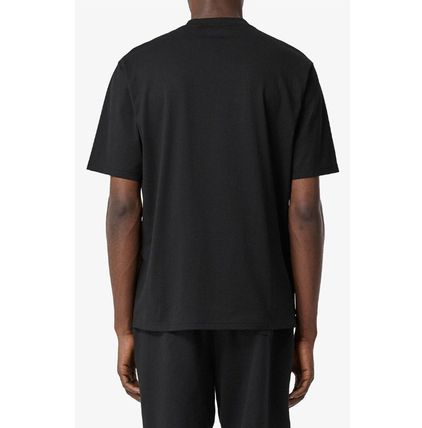 Burberry More T-Shirts Street Style Cotton Luxury T-Shirts 5
