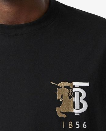 Burberry More T-Shirts Street Style Cotton Luxury T-Shirts 6