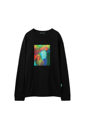 ANDERSSON BELL Long Sleeve Unisex Street Style Long Sleeves Cotton Long Sleeve T-shirt 10