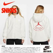 Nike AIR JORDAN Unisex Collaboration Logo Jackets
