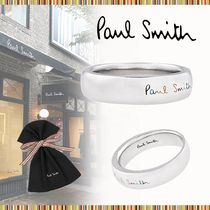Paul Smith Unisex Logo Rings