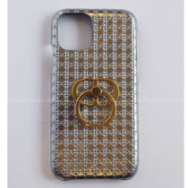 Christian Dior Leather Logo iPhone 11 Pro Smart Phone Cases