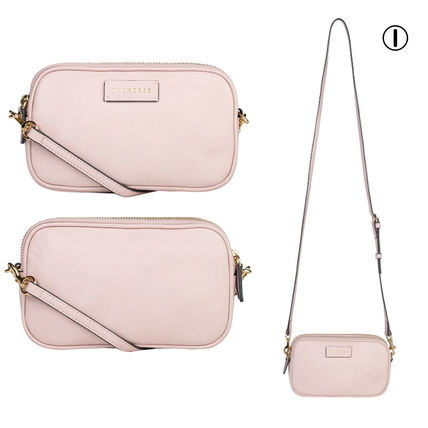 Casual Style Plain Office Style Crossbody Logo Clutches
