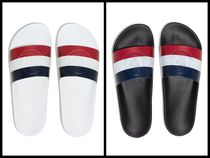 MONCLER Street Style Shower Shoes Logo Sandals