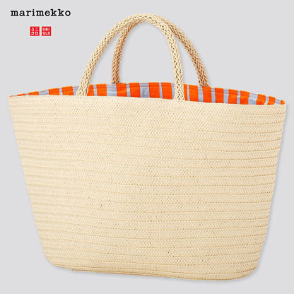 Stripes Casual Style Collaboration A4 Totes