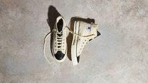 FEAR OF GOD ESSENTIALS Unisex Street Style Collaboration Plain Logo Sneakers
