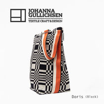 JOHANNA GULLICHSEN Casual Style Canvas A4 Crossbody Shoulder Bags