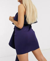 Missguided Short Casual Style Plain Dresses