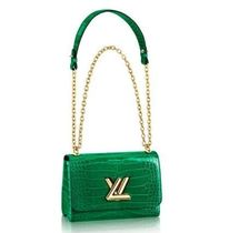 Louis Vuitton TWIST Casual Style 2WAY Chain Leather Party Style Elegant Style