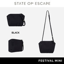 State of Escape Casual Style Unisex Street Style Shoulder Bags