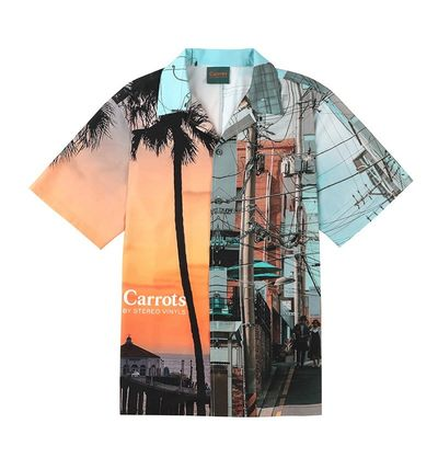 Street Style Collaboration Short Sleeves Shirts