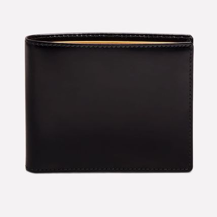 Unisex Plain Logo Folding Wallets