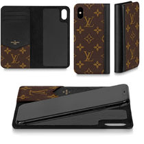 Louis Vuitton MONOGRAM Monogram Unisex Leather iPhone XS iPhone XS Max Logo