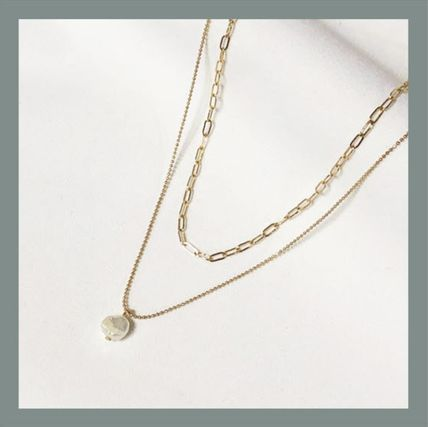 Casual Style Brass Elegant Style Necklaces & Pendants