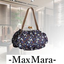 Weekend Max Mara Casual Style 2WAY Chain Elegant Style Clutches