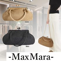 Weekend Max Mara Casual Style 2WAY Plain Elegant Style Clutches