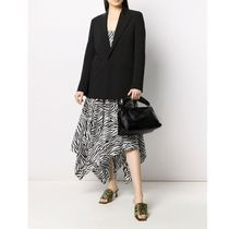 Dries Van Noten Casual Style Street Style Plain Leather Party Style
