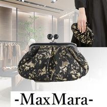 Weekend Max Mara Casual Style Blended Fabrics 2WAY Chain Party Style