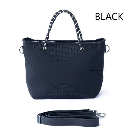 Nylon Street Style 2WAY Plain Crossbody Shoulder Bags