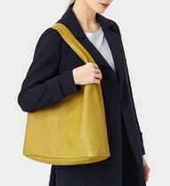 Hobbs London Casual Style Plain Leather Office Style Elegant Style
