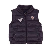 MONCLER Unisex Blended Fabrics Street Style Baby Boy Outerwear