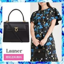 Launer 2WAY Leather Party Style Elegant Style Formal Style