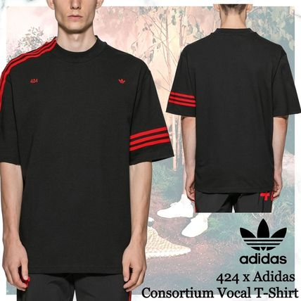 adidas More T-Shirts Street Style Collaboration Short Sleeves Logo T-Shirts