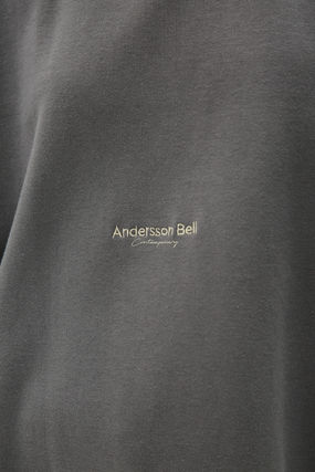 ANDERSSON BELL More T-Shirts Unisex Street Style Cotton Short Sleeves Logo T-Shirts 9