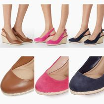 Dune LONDON Round Toe Casual Style Suede Plain Party Style Office Style